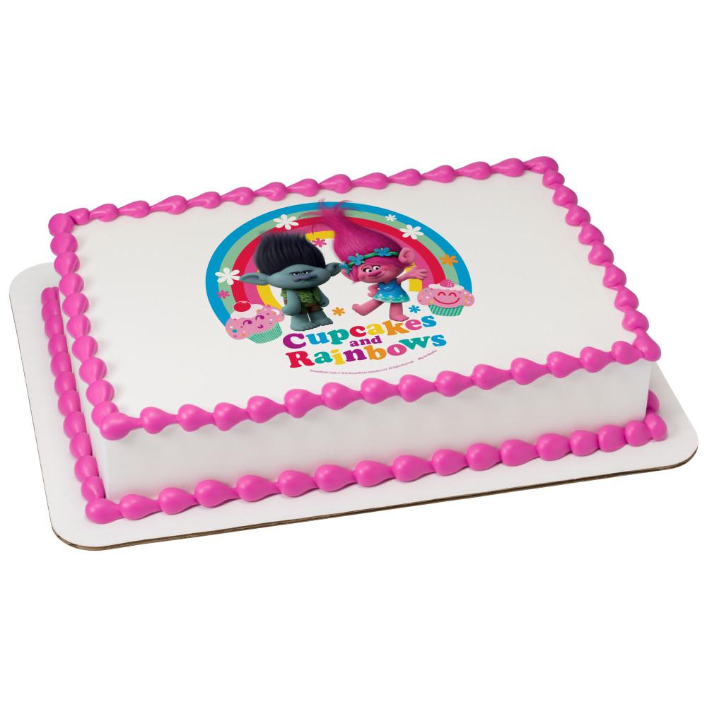 DreamWorks Trolls Cupcakes & Rainbows