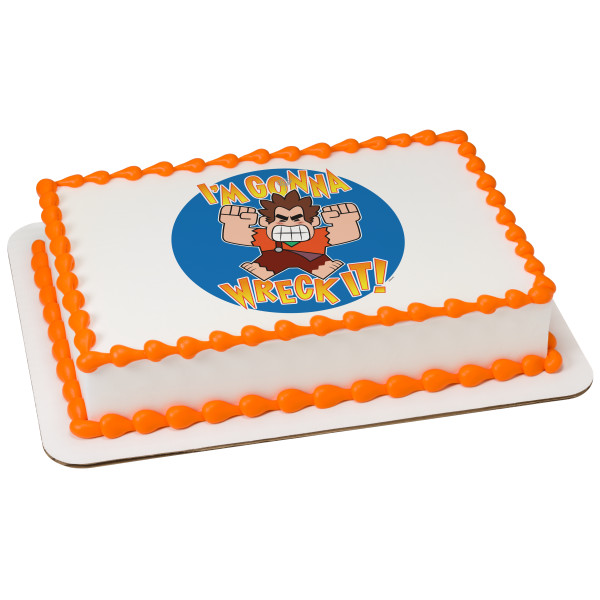 Wreck It Ralph 2 I'm Gonna Wreck It Edible Image®