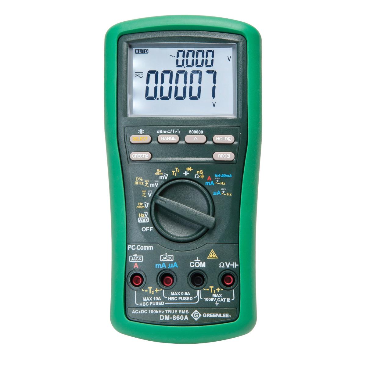 DMM 500K COUNTS (DM-860A) (CALIB)
