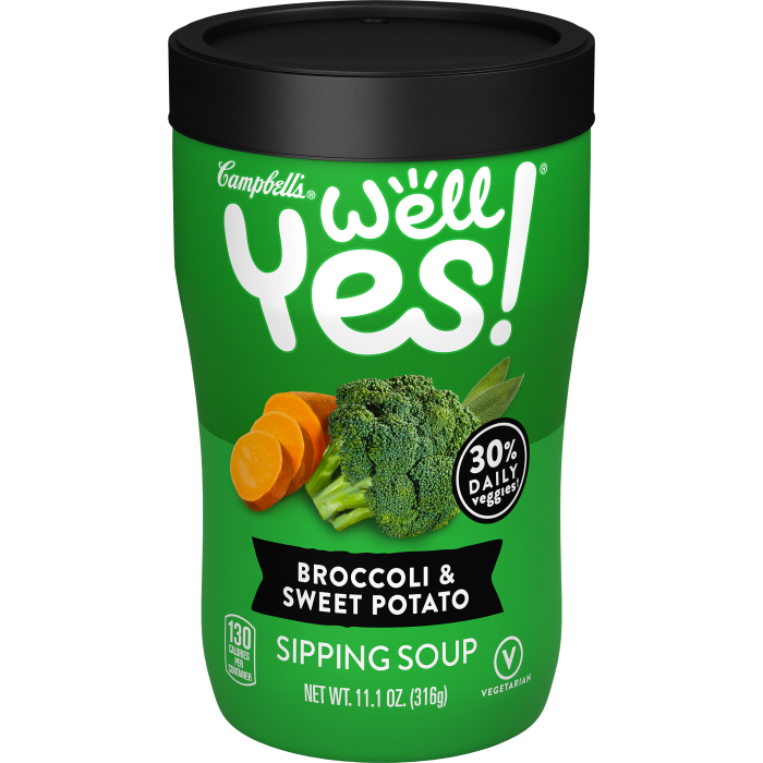 Broccoli & Sweet Potato Sipping Soup