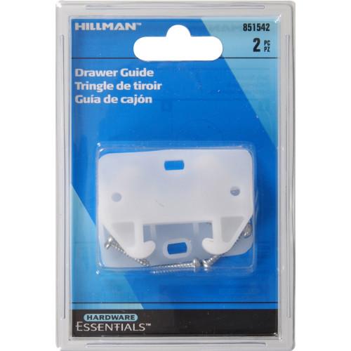 Hardware Essentials Drawer Guide Plastic