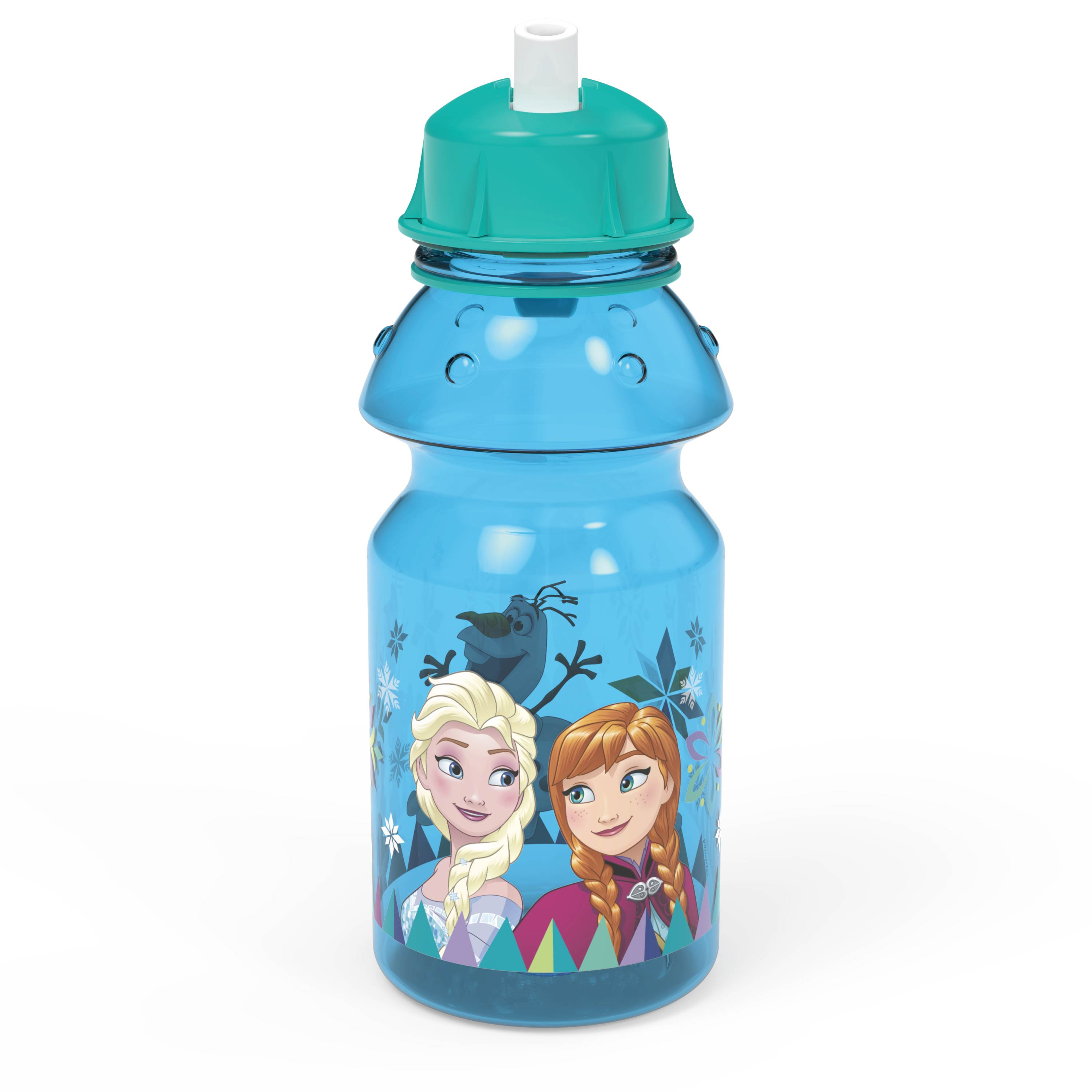 Disney Frozen 14 ounce Water Bottle, Anna, Elsa and Olaf slideshow image 1