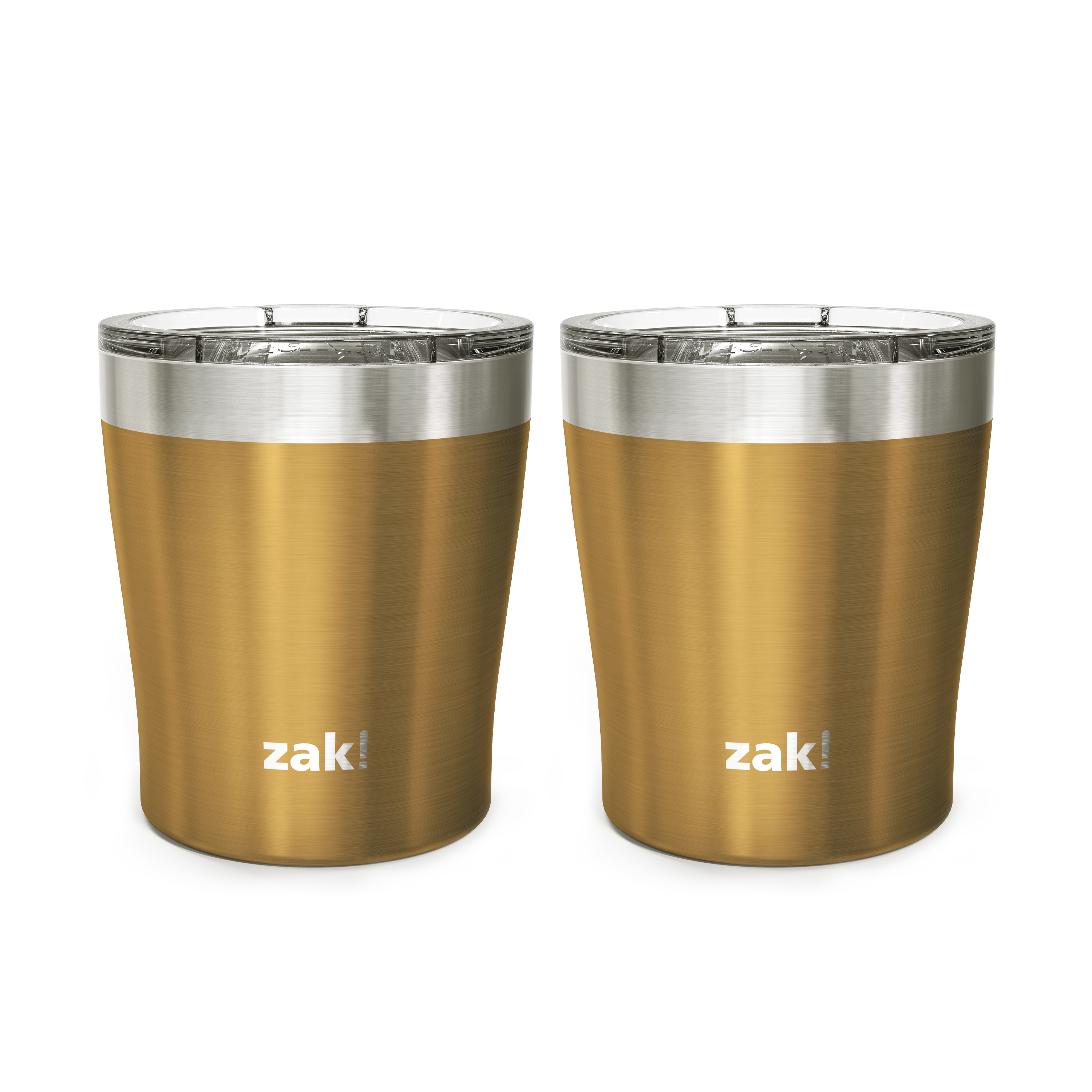Dayton 10 ounce Vacuum Insulated Stainless Steel Tumbler, Copper, 2-piece set slideshow image 2