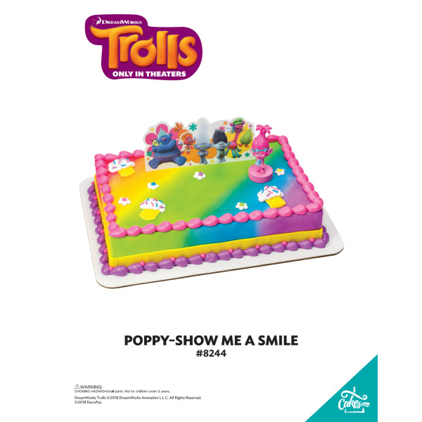 DreamWorks Trolls Poppy Show Me a Smile DecoSet® The Magic of Cakes® Page