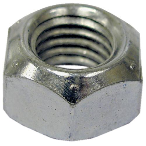 Zinc All Metal Grade C USS Coarse Stop Nut 1/4