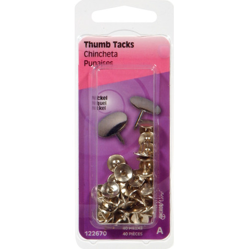Thumb Tacks Nickel
