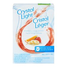Crystal Light Pitcher Packs, Strawberry Orange Banana