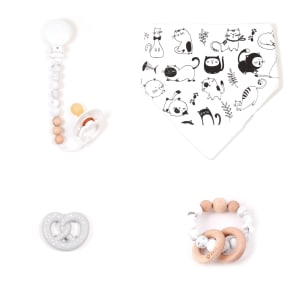 Bulle - 4-Piece Gift Set for Babies Chabada