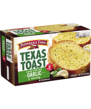 (11.25 ounces) Pepperidge Farm® Garlic Texas Toast, thawed
