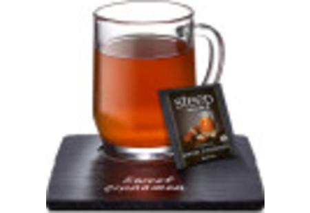 Cup of steep by bigelow organic sweet cinnamon black tea