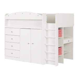 Tiara - Loft Bed with Desk