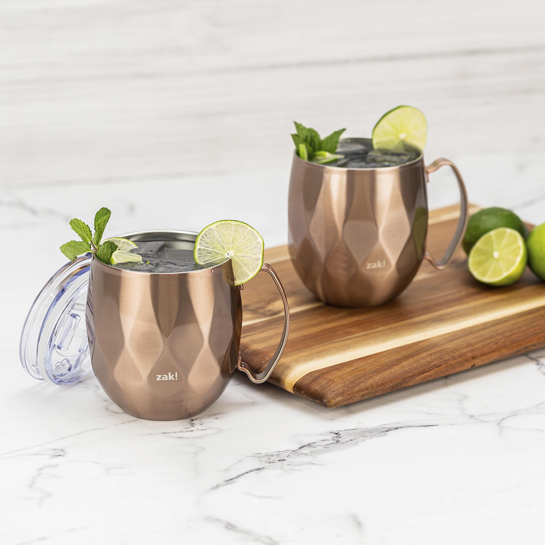 Fractal 19 ounce Mule Mug, Rose Gold slideshow image 10