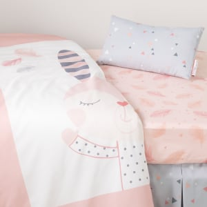 Dreamit - Doudou the rabbit 3-Piece Baby Crib Bed Set and Pillow