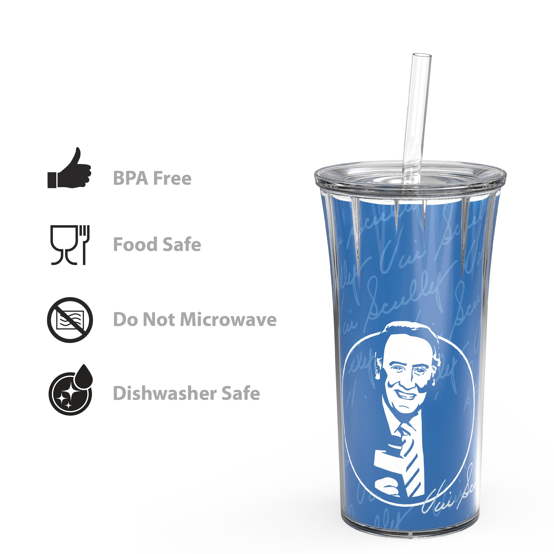 Zak Hydration Insulated Tumbler, Vin Scully, 2-piece set slideshow image 6