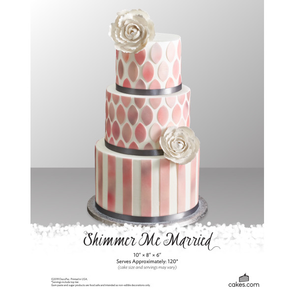 Shimmer Me Married Wedding The Magic of Cakes® Page