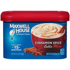 Maxwell House International Cinnamon Spice Coffee 9.1 oz Canister