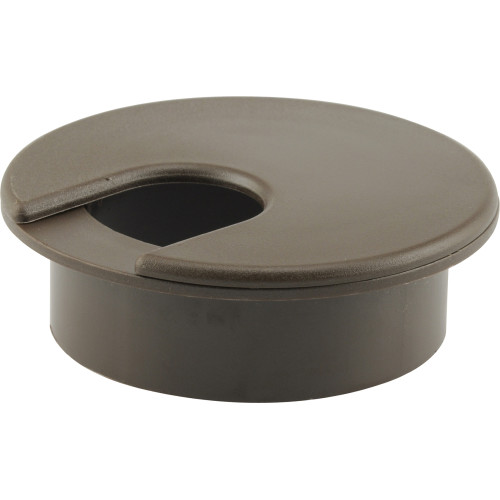 Brown Computer Desk Grommet (2-1/2