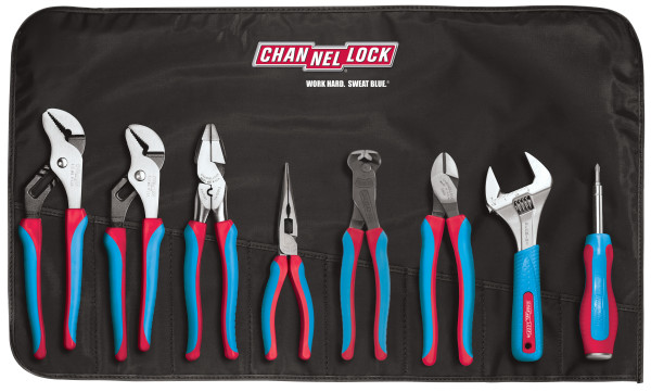 CBR-8A 8pc CODE BLUE® Premium Tool Set with Tool Roll
