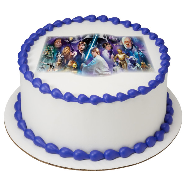 Star Wars™ A Galaxy Far, Far Away PhotoCake® Edible Image®