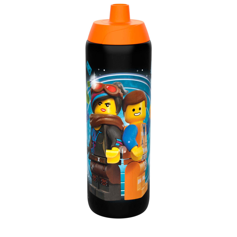 LEGO Movie 2 25 ounce Water Bottle, Batman, Wyldstyle & Emmet, 2-piece set slideshow image 3