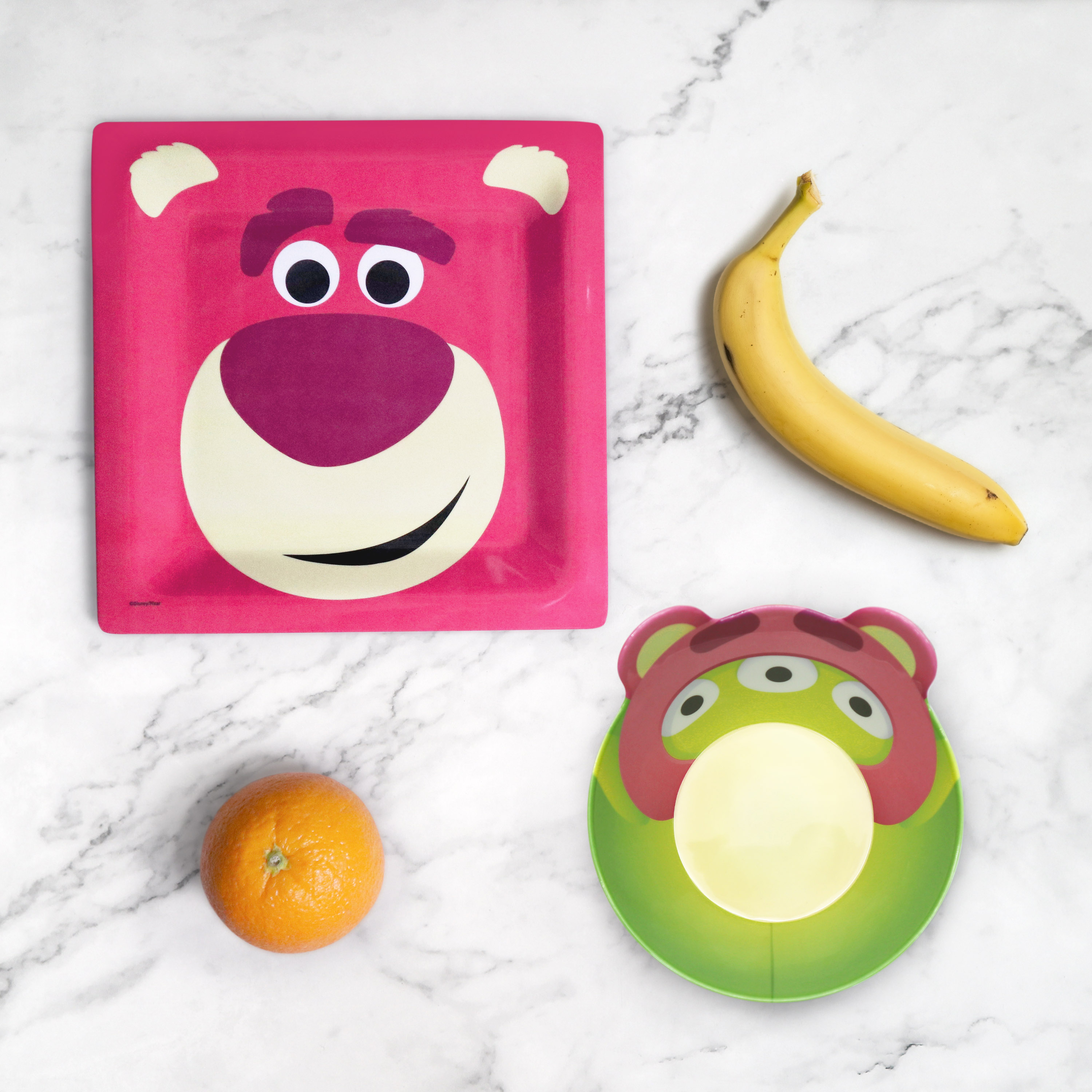 Disney and Pixar Toy Story 4 Plate and Bowl Set, Lotso, 2-piece set slideshow image 5