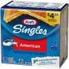 Kraft Singles American Cheese Slices, 16 oz Pre-Priced (24 slices)