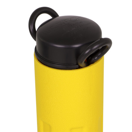 ChainBoss Stanchion - Yellow Empty with Black Chain 12