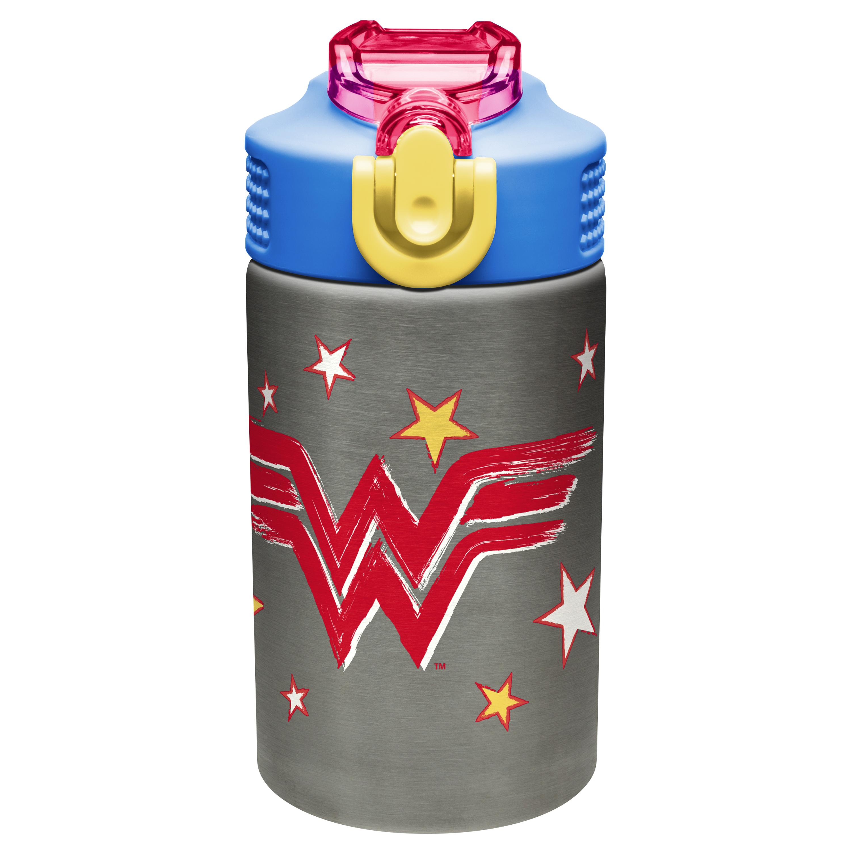 DC Comics 15.5 ounce Water Bottle, Wonder Woman slideshow image 2
