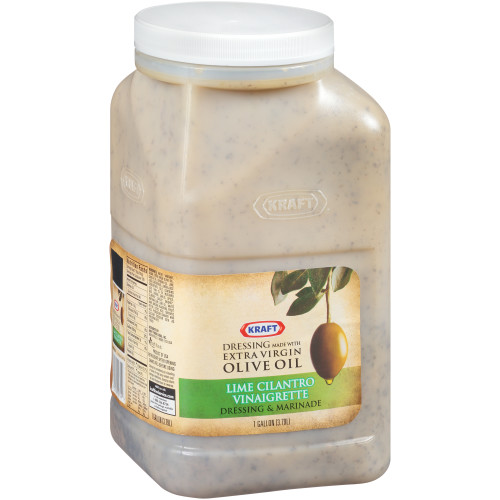 KRAFT Lime Salad Dressing, 1 gal. Jugs (Pack of 2)