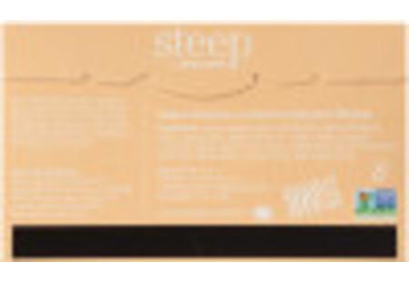 Back of steep by Bigelow Organic Lemon Ginger Herbal Tea box of 20 tea bags - Ingredient List
