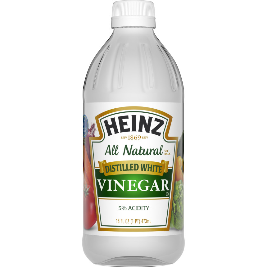 Heinz Distilled White Vinegar, 12 - 16 fl oz Bottles