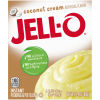Jell-O Instant Coconut Cream Pudding & Pie Filling 3.4 oz Box