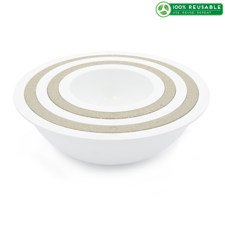 Tilt Mixing Bowl Set, White, 5-piece set slideshow image 1