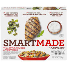 Smart Ones Smart Made Thai-Style Chicken & Vegetables 9 oz Box