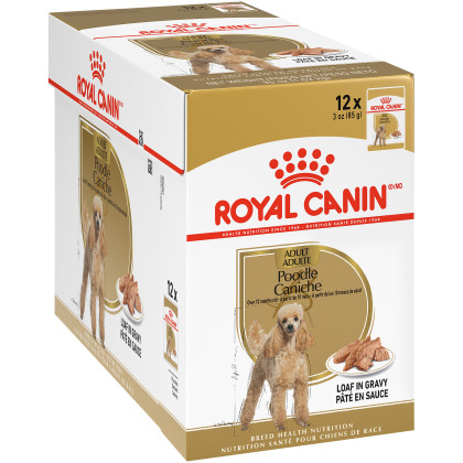Royal Canin Breed Health Nutrition Poodle Pouch Dog Food