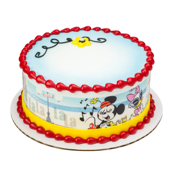 Mickey Mouse & Friends Mickey Shorts PhotoCake® Edible Image® Strips
