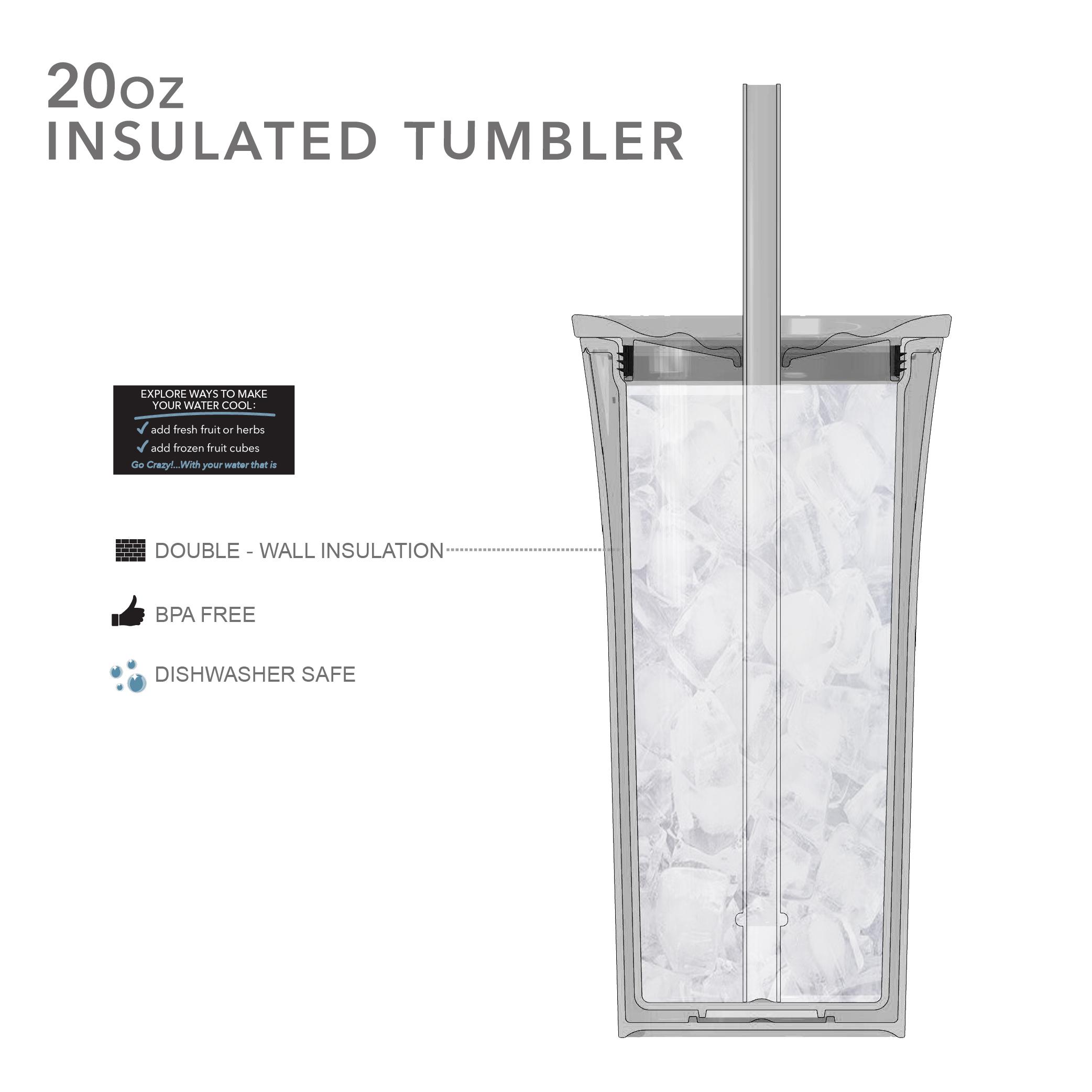 Abominable 20 ounce Insulated Tumbler, Yeti slideshow image 6