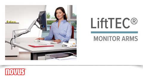 Novus LiftTEC® Monitor Arms Video