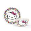 Sanrio Dinnerware Set, Hello Kitty, 2-piece set slideshow image 1