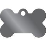 Black Nickel Small Bone Quick-Tag