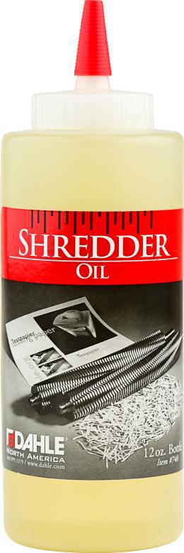 Dahle Shredder Oil
