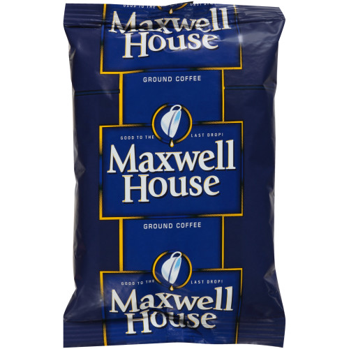 MAXWELL HOUSE Roast & Ground Coffee, 2.5 oz. Bags (Coffee) Pack of 152