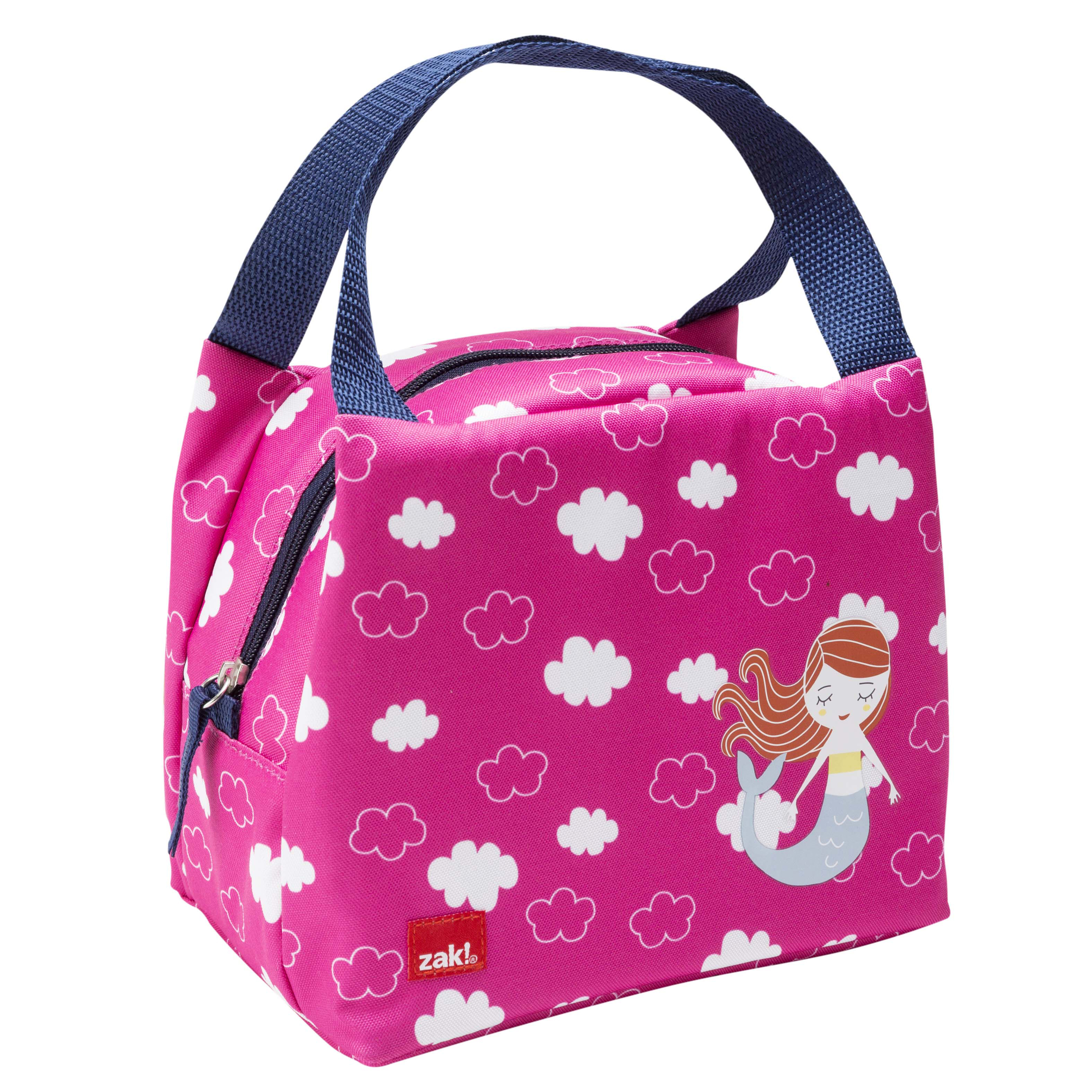 Happy Things Purse Style Insulated Reusable Lunch Bag, Mermaids slideshow image 3