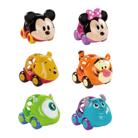 Disney Baby Go Grippers 6-pc Car Set