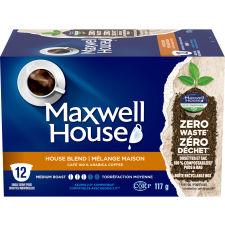 Maxwell House House Blend 12 ct Single Serve Coffee Pods
