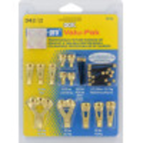 OOK Professional Picture Hanger Value Pack Kit 5lb-100lbs with Bumpers