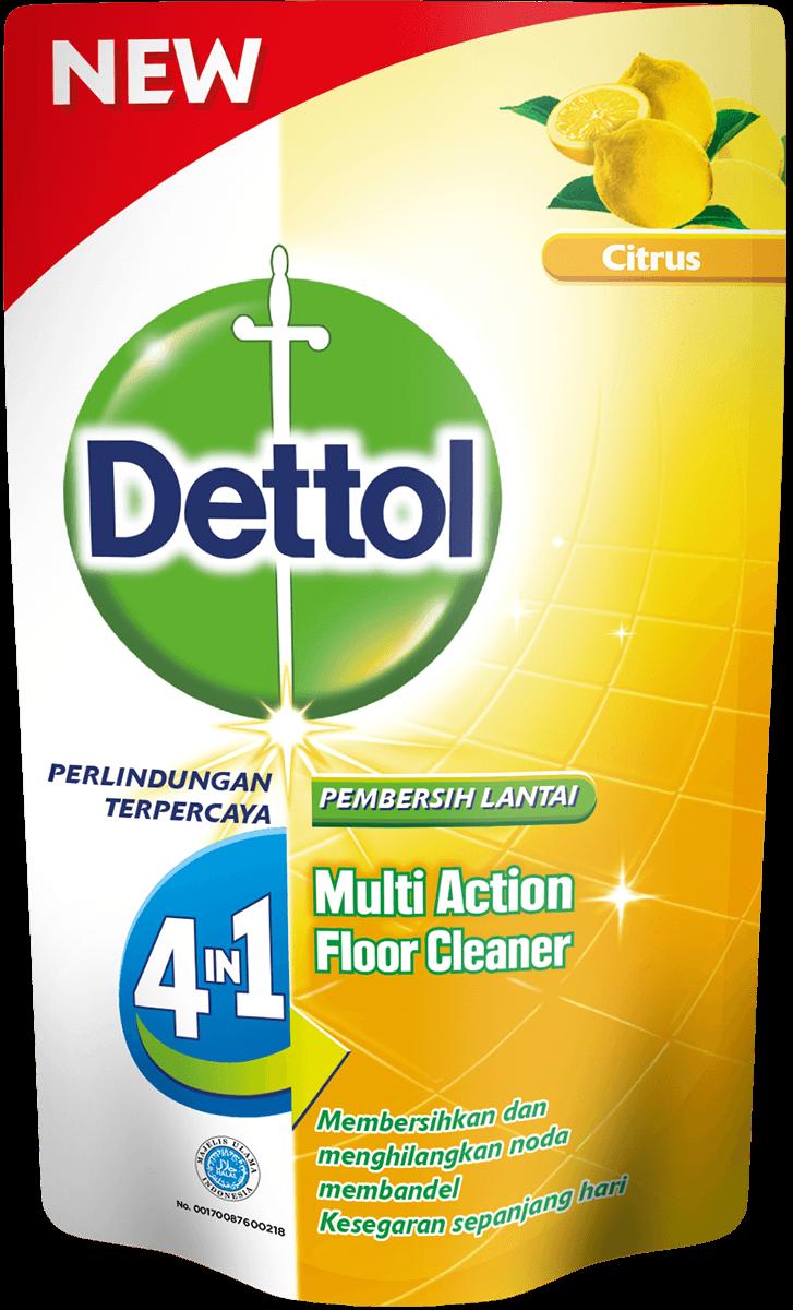 Pembersih Lantai Anti Bakteri Dettol Citrus