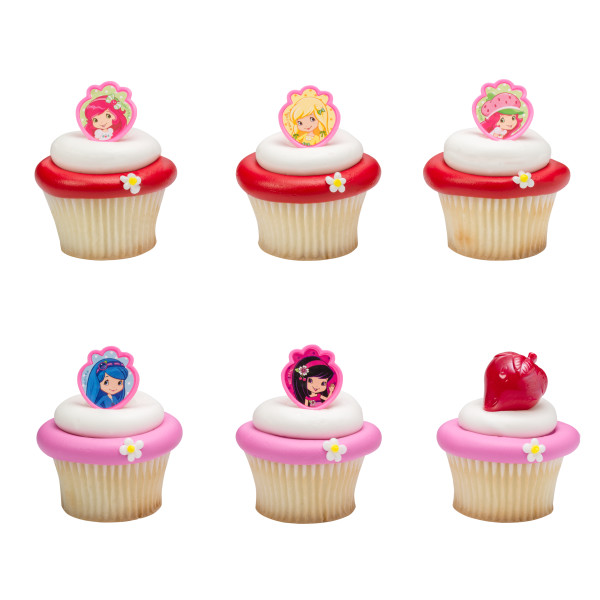 Starwberry Shortcake™ Friends Forever Cupcake Rings