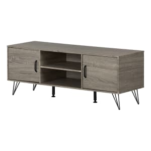 """Evane - TV Stand with Doors for TVs up to 55"""""""