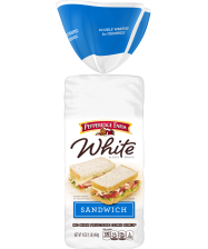 firm Pepperidge Farm® White Calcium Enriched Sliced Sandwich Bread